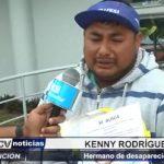 Trujillo: Cobrador de micro busca a hermano desaparecido desde hace 7 días