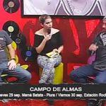 Campo de Almas en entrevista para Bajocontrol Ucv Satelital