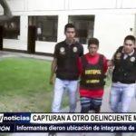 """Trujillo: Capturan a otro delincuente más buscado de banda """"Los plataneros"""""""