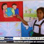 """El Porvenir: Escolares de centro educativo participaron en el concurso """"Cartel por la paz"""""""