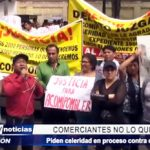 Piura: Comerciantes piden celeridad en proceso contra presidente de mercado