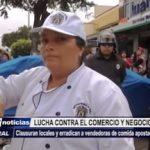 Trujillo: Operativo contra el comercio informal frente a la UNT