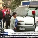 Trujillo: Agentes ediles intervienen violentamente a comerciantes ambulantes
