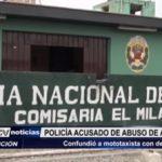 El Milagro: Policía es acusado de confundir a mototaxista con delincuente