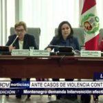 Lima: Piden intervención del gobierno ante casos de violencia contra la mujer