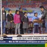 Julcán: Más de 500 alumnos participaron en concurso académico