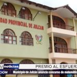 Julcán: Municipio organiza concurso educativo y premia al esfuerzo