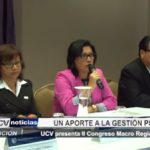 La Libertad: UCV presenta Segundo Congreso Macro Regional del Norte