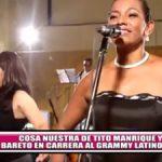 """""""Cosa Nuestra"""" de Tito Manrique y """"Bareto"""" en carrera al Grammy Latino"""