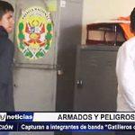 """Trujillo: Policía captura a integrantes de la banda """"Los gatilleros de La Esperanza"""""""