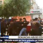 Trujillo: Ambulantes informales denuncian que fueron golpeados por trabajadores municipales