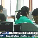 Trujillo: Especialista advierte que fallo de recorte de sueldos es inconstitucional