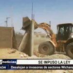 La Esperanza: Desalojan a invasores de sectores Wichanzao y El Triunfo