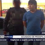 Chimbote: Sujeto acusado de pedofilia fue capturado junto a menor en su colectivo