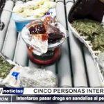 Trujillo: 5 personas fueron intervenidas al intentar pasar droga al penal El Milagro