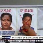 Trujillo: Alcalde de La Esperanza insiste en estado de emergencia
