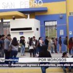 Chimbote: Estudiantes universitarios denuncian abuso en su centro de estudios