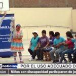 Trujillo: Niños con discapacidad participaron de jornada artística