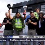 Trujillanos ganan final de competencia de camiones