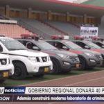 La Libertad: GRLL donará 40 patrulleros y construirá Laboratorio de Criminalística