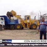 Huanchaquito: Inicia limpieza y proyecto de seguridad en Balneario