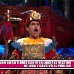 Juan Diego Flórez cantó en Londres vestido de inca y cautivó al público