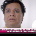 Venta de discos físicos de Juan Gabriel se incrementa tras su muerte