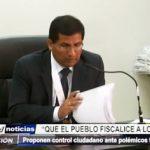 Trujillo: Proponen control ciudadano ante polémicos fallos judiciales
