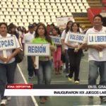 Inauguraron XIX Juegos Laborales en el Coliseo Gran Chimú