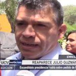 Chiclayo: Reaparece Julio Guzmán