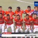 Liguilla Grupo A: Defensor La Bocana 1 - 3 César Vallejo