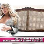 Leslie Shaw derrocha sensualidad en sesión de fotos