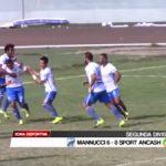 Mannucci 6 – 0 Sport Áncash
