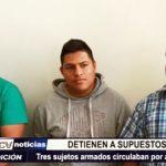 Trujillo: Detienen a 3 supuestos marcas que circulaban por agencia bancaria