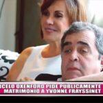 Marcelo Oxenford pide públicamente matrimonio a Yvonne Frayssinet