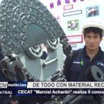 """Trujillo: CECAT """"Marcial Acharán"""" realiza segundo concurso artístico con material reciclab..."""