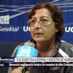 Trujillo: Fue sometida a biopsia y muestra se habría perdido