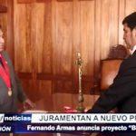 Trujillo: Juramentan a nuevo Prefecto Fernando Armas