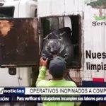 Trujillo: Operativos inopinados a compactadoras del SEGAT