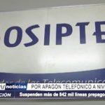 Trujillo: Suspenden 842 mil líneas prepago en apagón telefónico a nivel nacional