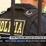 Trujillo: Policía cobra coima a taxista para favorecerlo en investigación policial