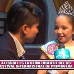 Alessia I es la reina infantil del 66° Festival Internacional de Primavera