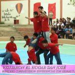 Festival de la Primavera: Menores de Hogar San José compartieron con reinas y bastoneras
