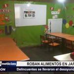 Alto Trujillo: Delincuentes asaltan Jardín y se llevan desayuno de 27 niños