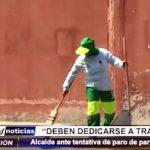 MPT: Alcalde de Trujillo exhorta a empleados del SEGAT a trabajar