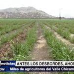 Ascope: Miles de agricultores del Valle Chicama afectados ante fuerte sequía del río