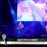 La gente rockera vibró en la Trilogía del Rock