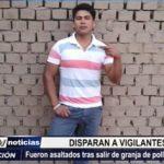 Ascope: Vigilantes fueron baleados y asaltados al salir de granja de pollos en Chiquitoy