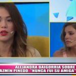 "Alejandra Baigorria sobre Jazmín Pinedo: ""Nunca fui su amiga"""