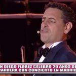 Juan Diego Flórez celebró 20 años de carrera con concierto en Madrid
